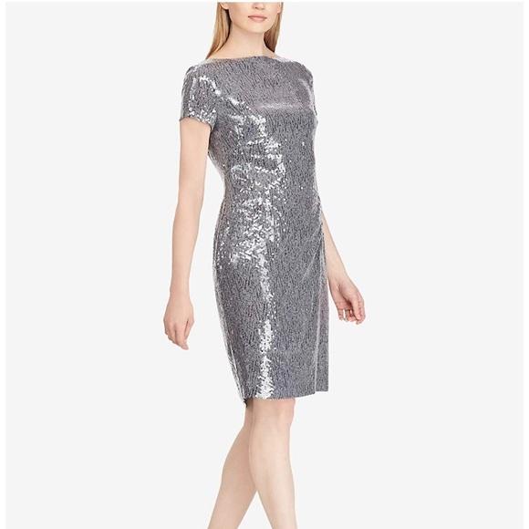 🆕💗VDay Sale Ralph Lauren Sequin Metallic Dress